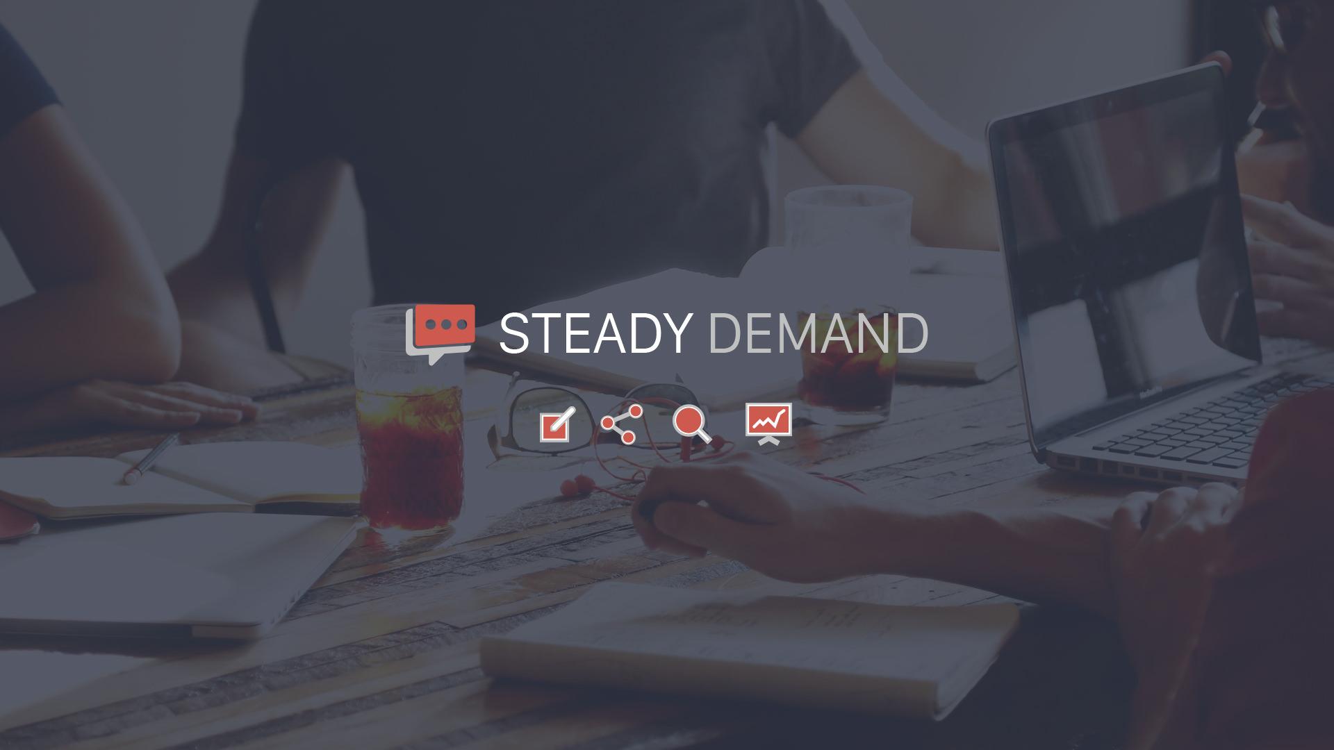 Steady Demand - Social Media Marketing Agency