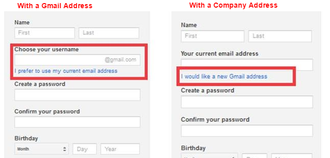 How to setup a google account with your company domain name Google sites sign in