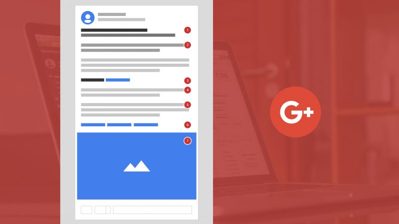 how to format a google plus post