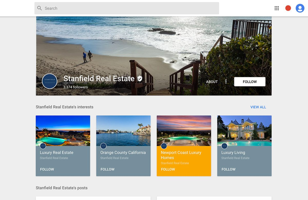 stanfield real estate google plus cover photo