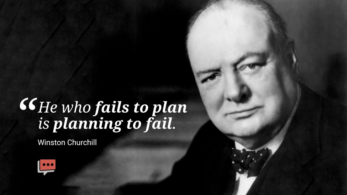 fail to plan quote