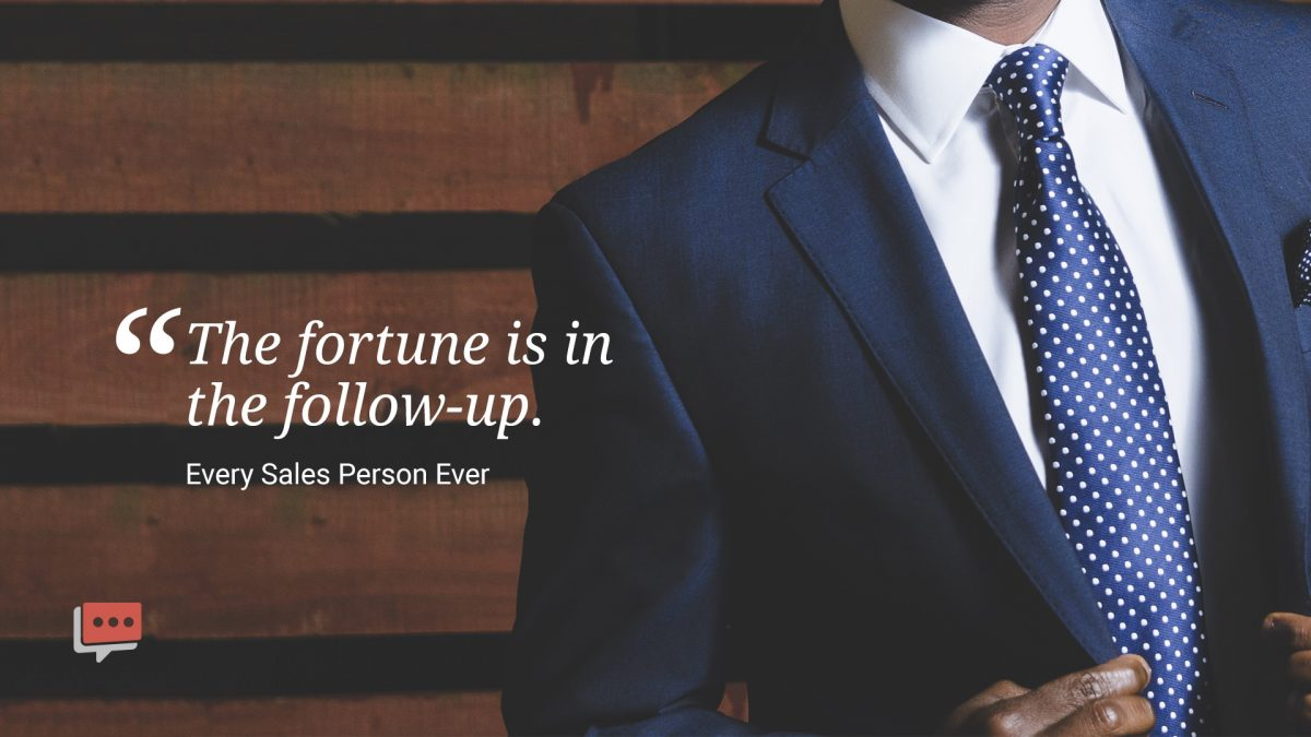 fortune in the follow up quote