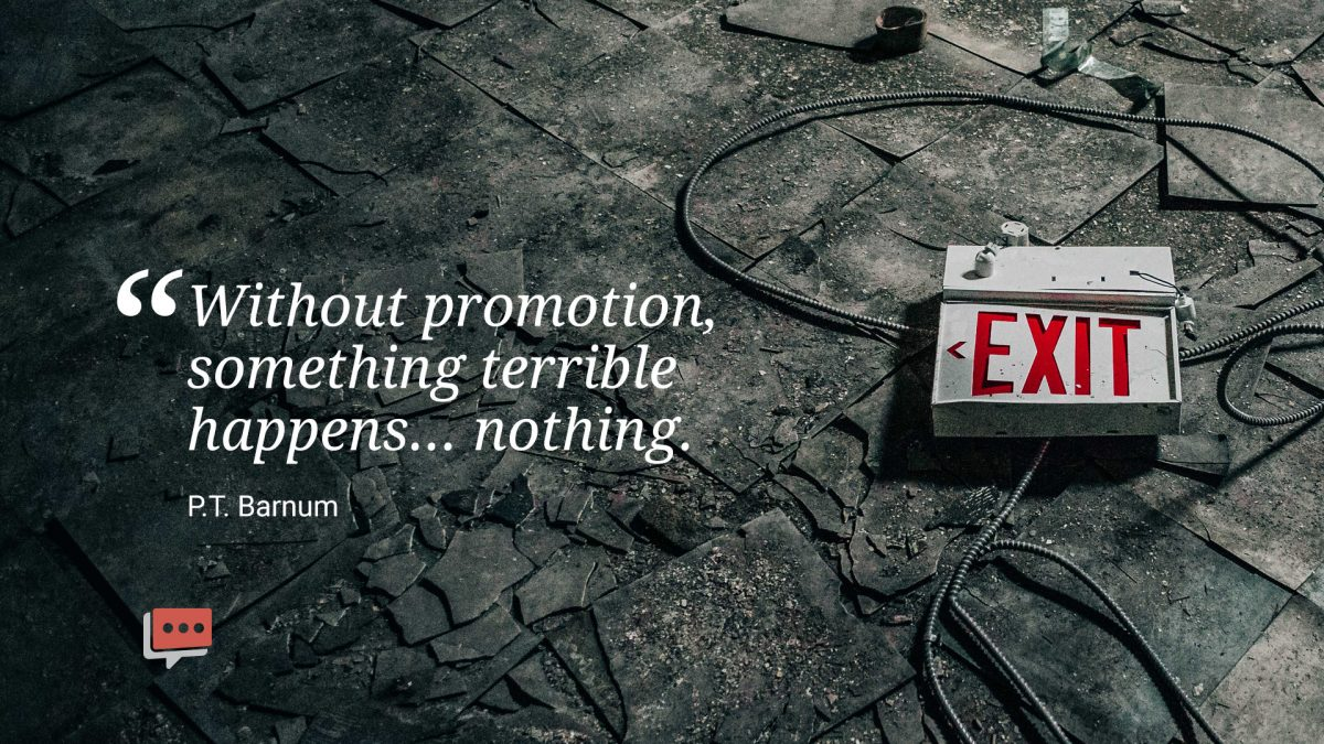 quote about the importance of promotion