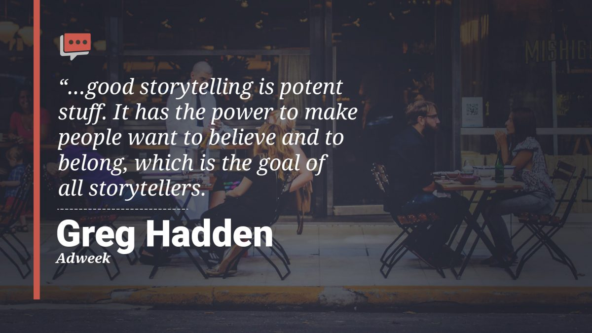 good storytelling quote