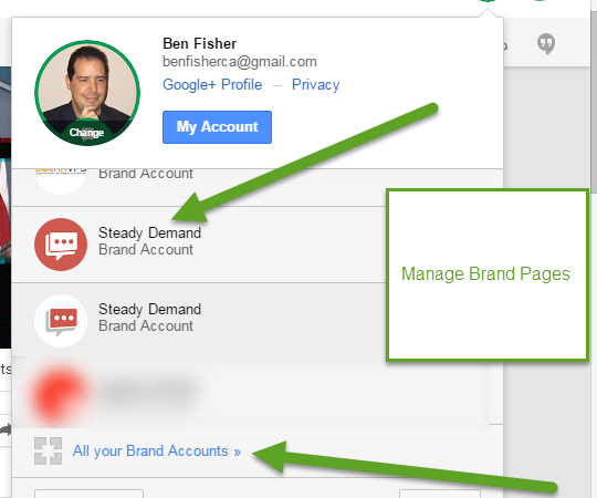 Google My Business Removes Brand Page Management Feature