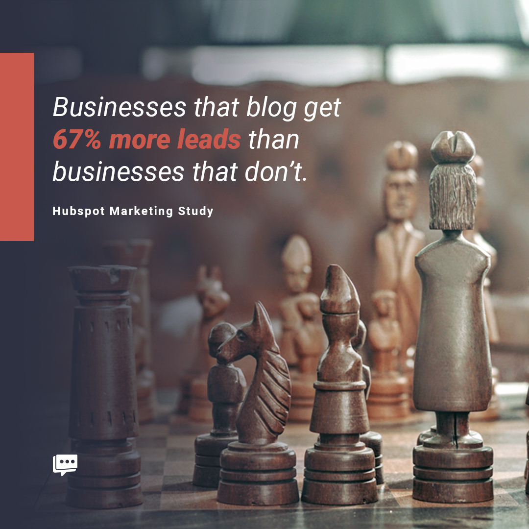 business blog leads stat