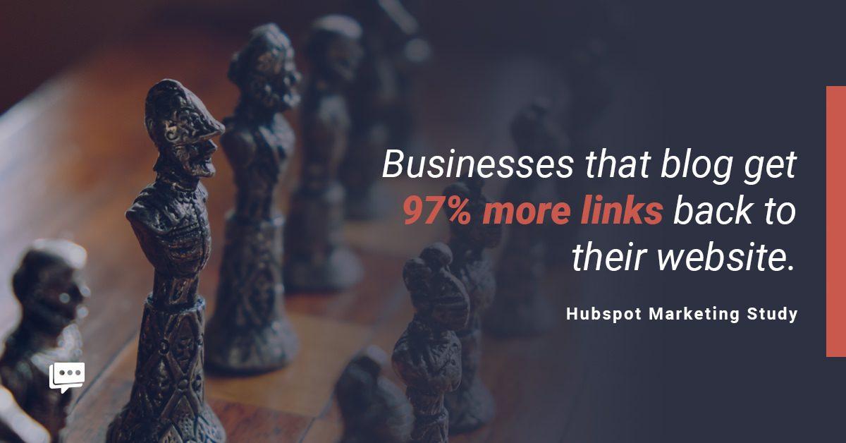 business blog backlinks stat
