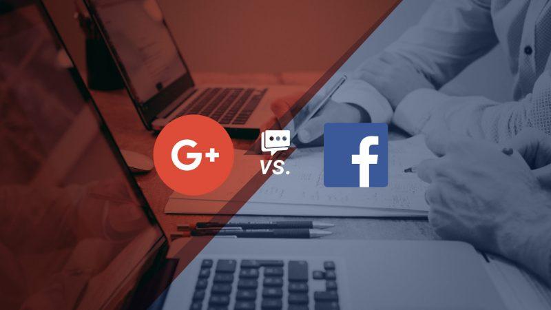 google plus versus facebook