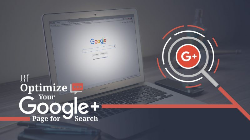 optimize google plus page for search