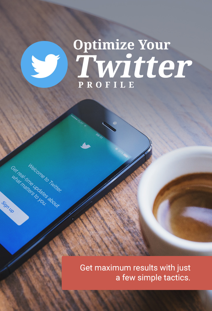 Getting your Twitter profile in line with your business goals takes a more than just throwing up a profile picture and quick bio. It takes some intentional strategic tweaks to make sure you're getting the optimum reach.