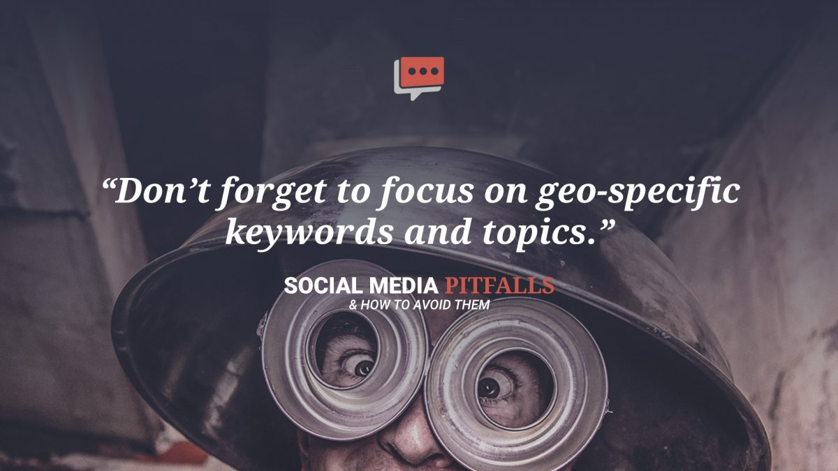 social media geolocation quote