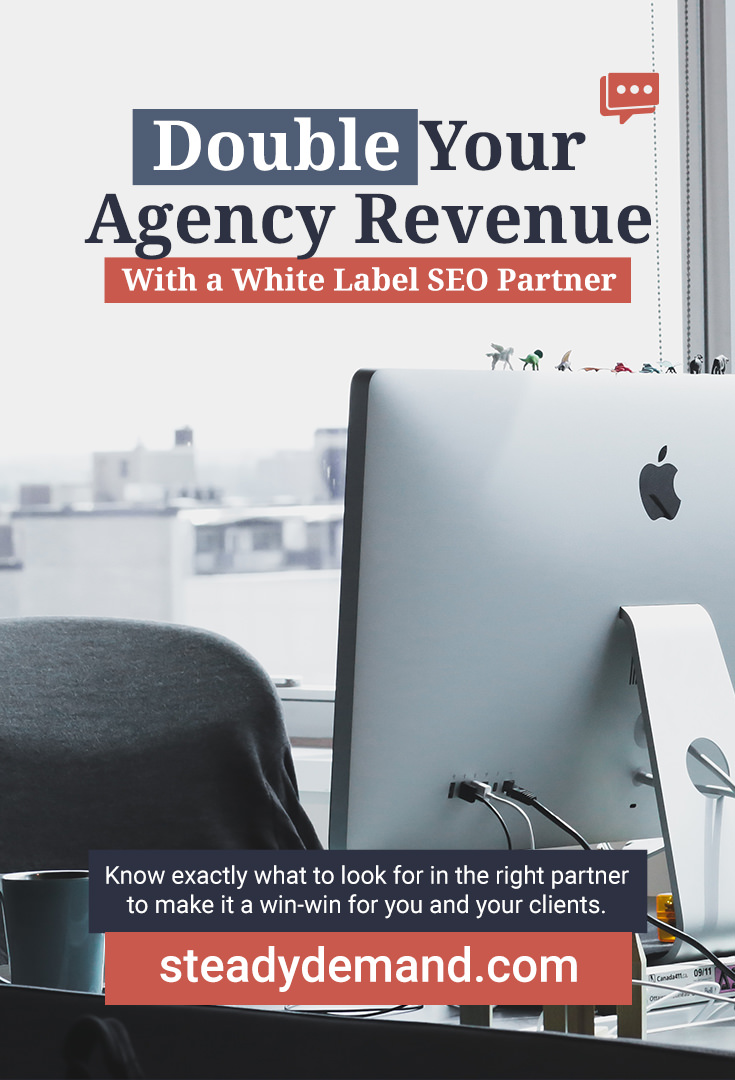 Have you heard about whitelabel SEO services previously, and just never knew what that meant? Or maybe you've just never taken the time to look into it as an alternate revenue stream for your marketing business?